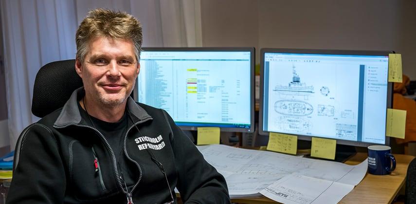 Använd vårt nätverk av marina projektingenjörer